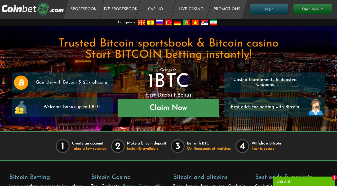 Bitcoin คาสิโนสหราชอาณาจักร 10 ฟรี